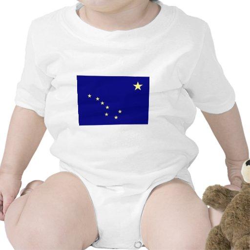 Bandera de Alaska Trajes De Bebé
