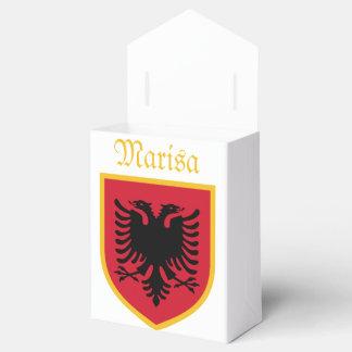Bandera de Albania Caja Para Regalos De Fiestas