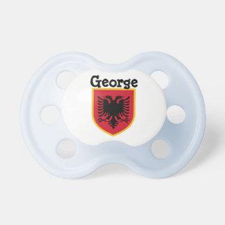 Bandera de Albania Chupetes De Bebe