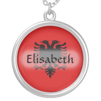 Bandera de Albania + Collar conocido