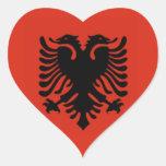 Bandera de Albania Etiquetas