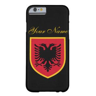 Bandera de Albania Funda Para iPhone 6 Barely There