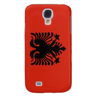 Bandera de Albania Funda Para Samsung Galaxy S4