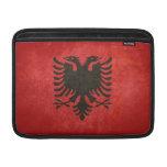 Bandera de Albania Fundas Macbook Air