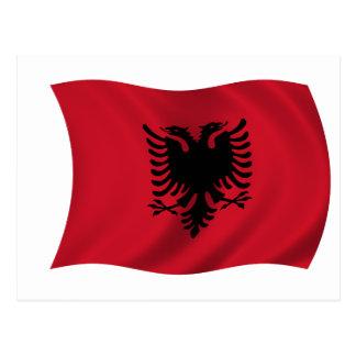 Bandera de Albania Postales