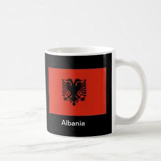 Bandera de Albania Taza De Café