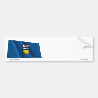 Bandera de Alberta, Canadá Pegatina Para Auto