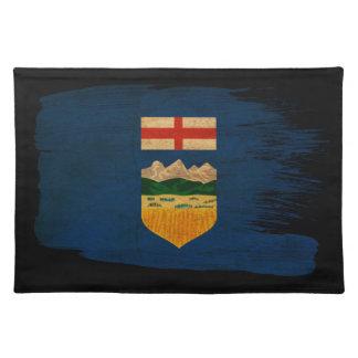 Bandera de Alberta Manteles