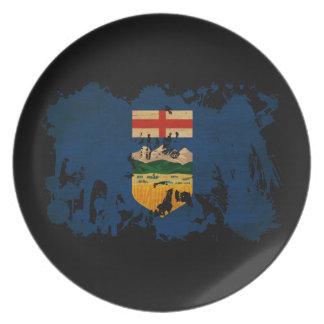 Bandera de Alberta Plato De Comida