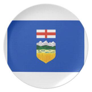 Bandera de Alberta Platos