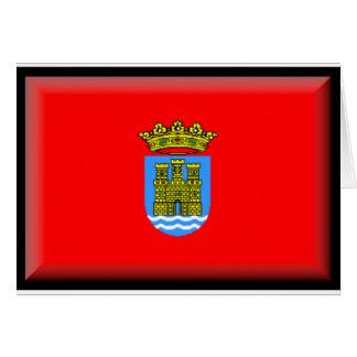 Bandera de Alcalá de Henares (España) Tarjeta De Felicitación