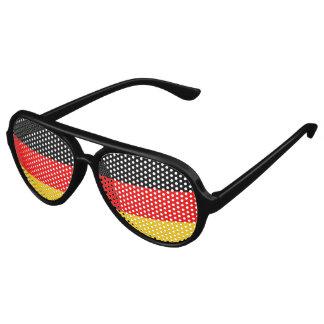Bandera de Alemania, bandera del alemán de la Lentes De Sol