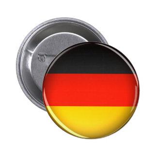 Bandera de Alemania - botón Pin Redondo De 2 Pulgadas