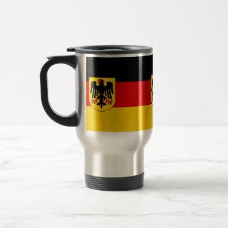 Bandera de Alemania - Bundesdienstflagge Taza De Viaje