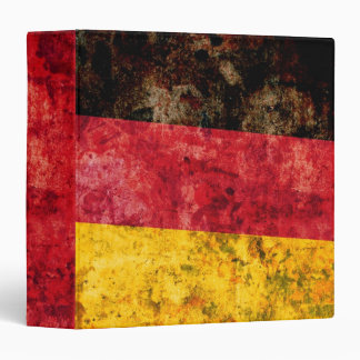 """Bandera de Alemania Carpeta 1 1/2"""""""