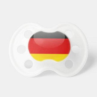 Bandera de Alemania Chupete De Bebe
