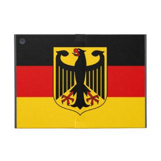 Bandera de Alemania con caso del iPad del escudo e iPad Mini Fundas