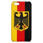 Bandera de Alemania con el iPhone listo 5 del escu