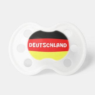 Bandera de Alemania con la fraseología Chupetes Para Bebés