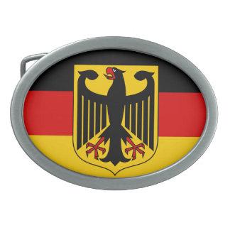 Bandera de Alemania con la hebilla del cinturón Hebilla Cinturon Oval