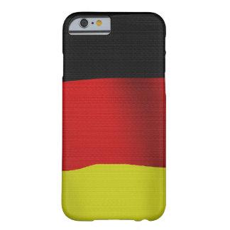 Bandera de Alemania de República Democrática Funda Para iPhone 6 Barely There