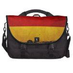 Bandera de Alemania del Grunge del vintage Bolsa Para Ordenador