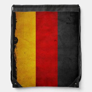 Bandera de Alemania del Grunge del vintage Mochila