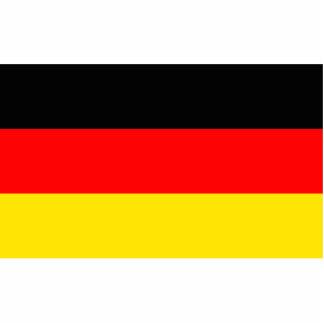 Bandera de Alemania Fotoescultura Vertical
