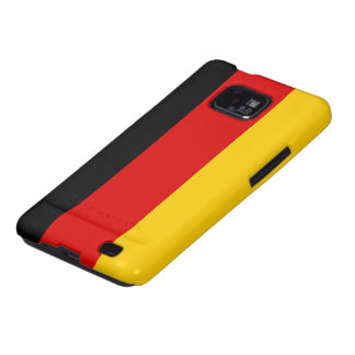 Bandera de Alemania Samsung Galaxy S2 Carcasas