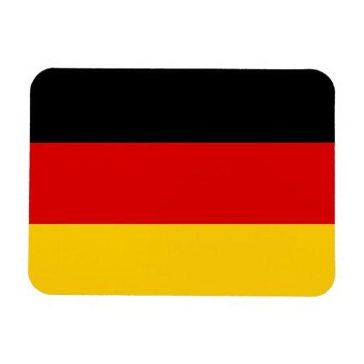 Bandera de Alemania Iman Rectangular