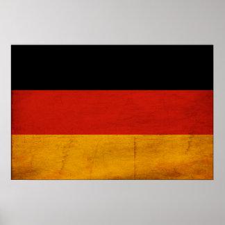 Bandera de Alemania Posters