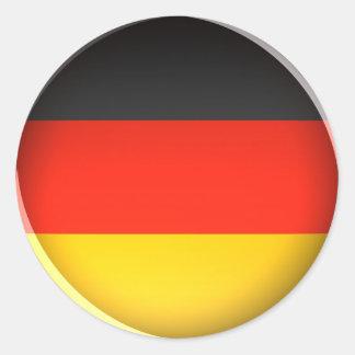 Bandera de Alemania - pegatina