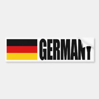Bandera de Alemania Pegatina Para Auto