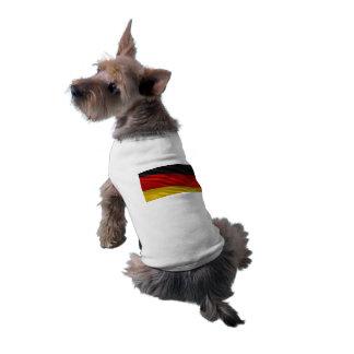 Bandera de Alemania Playera Sin Mangas Para Perro