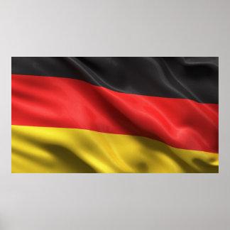 Bandera de Alemania Póster