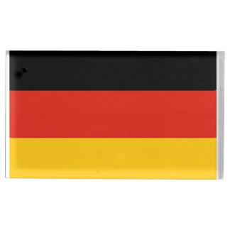 bandera de Alemania Soporte De Tarjeta De Mesa