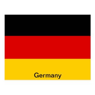 Bandera de Alemania Tarjetas Postales