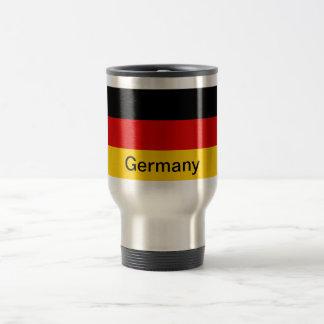 Bandera de Alemania Taza De Viaje De Acero Inoxidable