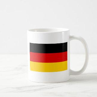 Bandera de Alemania Taza Básica Blanca