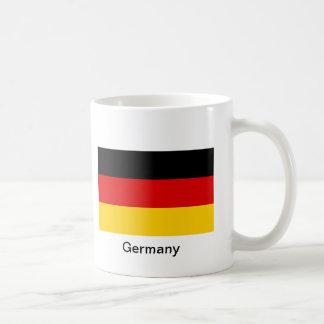 Bandera de Alemania Taza Clásica