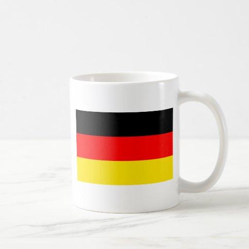 Bandera de Alemania Taza De Café