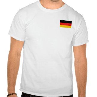 Bandera de Alemania y camiseta del mapa