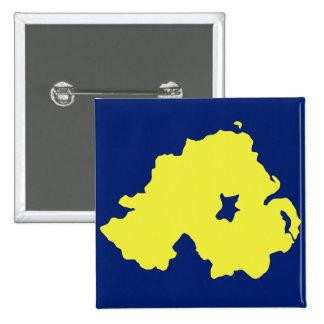 Bandera de Alliance Irlanda del Norte Pins
