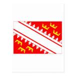 Bandera de Alsacia Postal