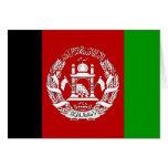 Bandera de alta calidad de Afganistán Tarjeta De Felicitación