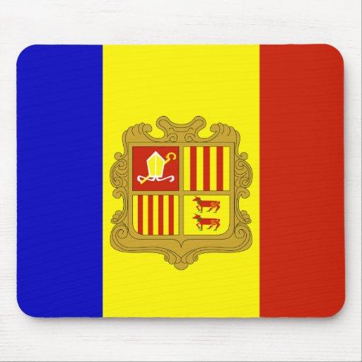Bandera de alta calidad de Andorra Tapete De Ratones