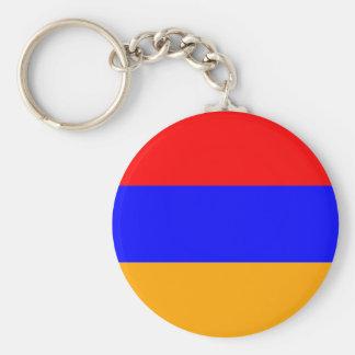 Bandera de alta calidad de Armenia Llaveros Personalizados