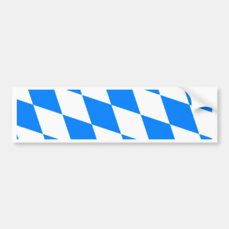 Bandera de alta calidad de Baviera de Alemania Pegatina Para Auto