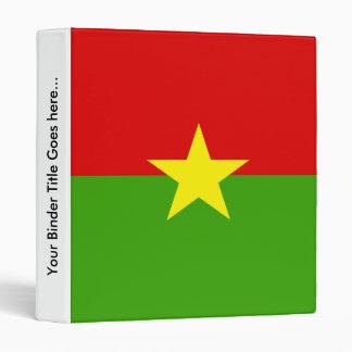 """Bandera de alta calidad de Burkina Carpeta 1"""""""