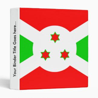 Bandera de alta calidad de Burundi
